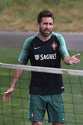 May 30, 2018 - Oeiras, Portugal - Portugal's midfielder Joao Moutinho during a training session at Cidade do Futebol (Football City) training camp in Oeiras, outskirts of Lisbon, on May 30, 2018, ahead of the FIFA World Cup Russia 2018 preparation matches against Belgium and Algeria...........during the Portuguese League football match Sporting CP vs Vitoria Guimaraes at Alvadade stadium in Lisbon on March 5, 2017. Photo: Pedro Fiuzaduring the Portugal Cup Final football match CD Aves vs Sporting CP at the Jamor stadium in Oeiras, outskirts of Lisbon, on May 20, 2015. (Credit Image: © Pedro Fiuza via ZUMA Wire)