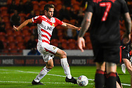 Matty Blair of Doncaster Rovers (17) in action during the EFL Sky Bet League 1 match between Doncaster Rovers and Sunderland at the Keepmoat Stadium, Doncaster, England on 23 October 2018.