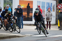 Jelena Eric (SRB) in the break on the finishing circuit at Driedaagse Brugge - De Panne 2018 - a 151.7 km road race from Brugge to De Panne on March 22, 2018. Photo by Sean Robinson/Velofocus.com