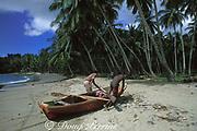 fishermen, Samana Bay, Dominican Republic ( Caribbean Sea )