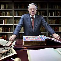 Nederland, Amsterdam , 2 december 2011..J.R. Ritman, managing director van J.R. Ritman Library oftewel Bibliotheca Philosophica Hermetica..Foto:Jean-Pierre Jans