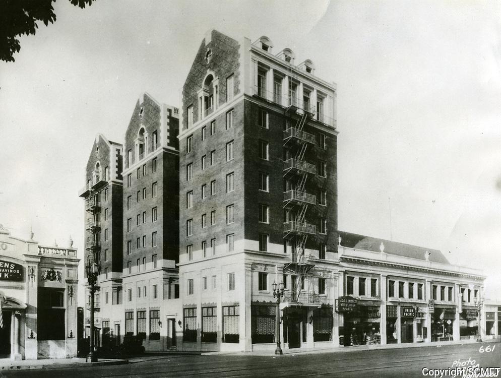 1925 Christie Hotel on Hollywood Blvd.