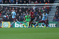 Football - 2019 / 2020 Premier League - AFC Bournemouth vs. Aston Villa<br /> <br /> Bournemouth's Philip Billing slots in the opening goal at the Vitality Stadium (Dean Court) Bournemouth <br /> <br /> COLORSPORT/SHAUN BOGGUST