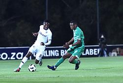 SOUTH AFRICA: GAUTENG: Bidvest Wits player Thabang Monare clash with Bloemfontein Celtic player Ndomiso Mabena during the Absa Premiership at Bidvest Stadium Gauteng. <br />810<br />10.11.2018<br />Picture: Itumeleng English/African News Agency (ANA)