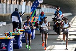 Joycline Jepkosgei, KEN, adidas, Ruti Aga, ETH, Nike<br /> TCS New York City Marathon 2019