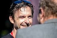 Servais Knaven coach of Team SKY during the Eneco Tour 2016 at  at Breda, Breda, Holland on 20 September 2016. Photo by Gino Outheusden.