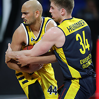 #44 Stefan Peno von Alba Berlin   , #34 Ian Hummer von Baskets Oldenburg <br /> Basketball, nph0001 1.Bundesliga BBL-Finalturnier 2020.<br /> Halbfinale Spiel 2 am 24.06.2020.<br /> <br /> Alba Berlin vs EWE Baskets Oldenburg <br /> Audi Dome<br /> <br /> Foto: Christina Pahnke / sampics  / POOL / nordphoto<br /> <br /> National and international News-Agencies OUT - Editorial Use ONLY