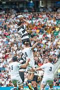 Twickenham, United Kingdom,  2nd June 2019, Quilter Cup -  England XV v Barbarian XV,  played at the RFU Stadium, Twickenham, England, <br /> © Peter SPURRIER: Intersport Images<br /> <br /> 15:46:23  02/06/2019