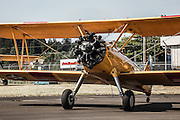 Stearman Kaydet at Oregon Aviation Historical Society.