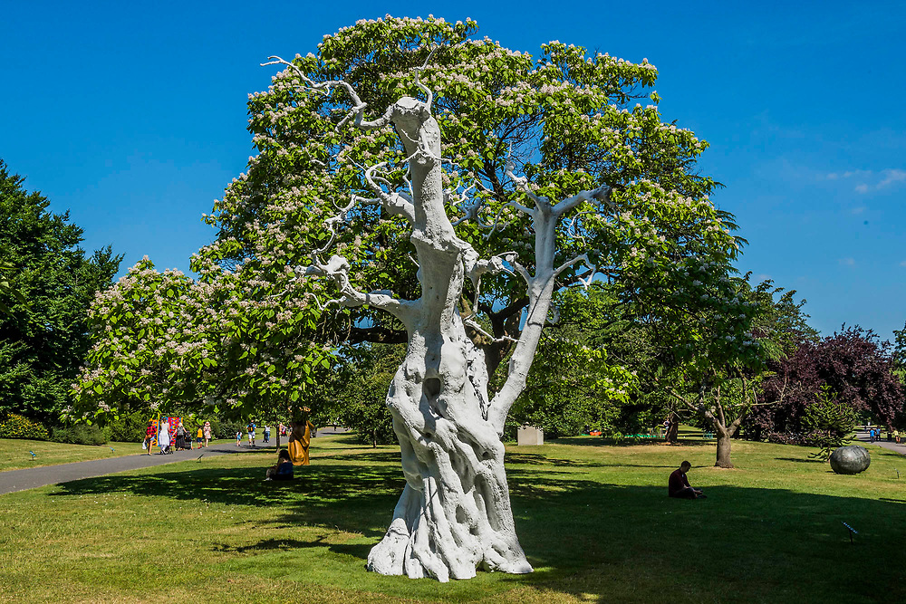 Ugo Rondinone, Summer Moon (2011) - The Frieze Sculpture Park 2017 comprises large-scale works, set in the English Gardens . The installations will remain on view until 8 Oct 2017.