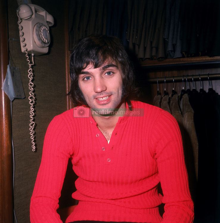 Manchester United's George Best in the back room of his boutique, Edwardia