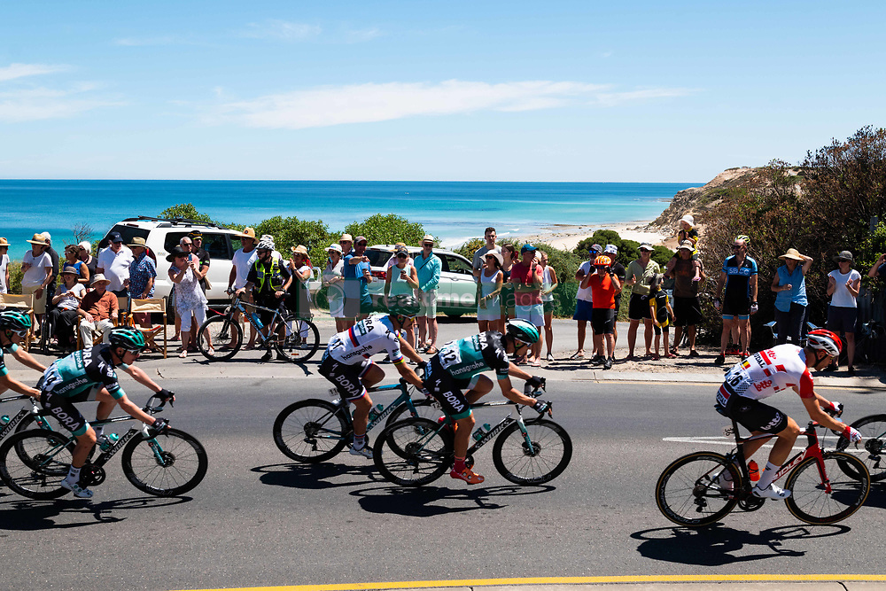 January 20, 2019 - Adelaide, South Australia, Australia - Peter Sagan, (Centre), Bora Hansgrohe, Stage 6 of the Tour Down Under, Australia on the 20 of January 2019  (Credit Image: © Gary Francis/ZUMA Wire)