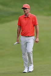 June 22, 2018 - Cromwell, Connecticut, United States - Russell Henley approaches the 18th green during the second round of the Travelers Championship at TPC River Highlands. (Credit Image: © Debby Wong via ZUMA Wire)