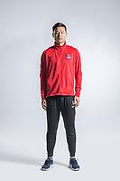 **EXCLUSIVE**Portrait of Chinese soccer player Wang Min of Chongqing Dangdai Lifan F.C. SWM Team for the 2018 Chinese Football Association Super League, in Chongqing, China, 27 February 2018.