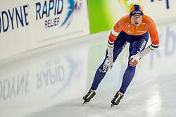 10-11-2017 NED: ISU World Cup, Heerenveen<br /> 500 m men, Ronald Mulder NED