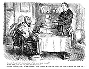 """Grannie. """"And wit's the matter wi' me right leg, doctor?"""" Doctor. """"Oh, just old age, Mrs MacDougall."""" Grannie. """"Hoots, man; Ye're haverin'. The left leg's hale and soond, and they're BAITH the same age."""""""