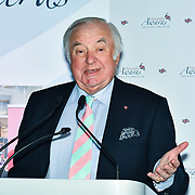 Winner of Comedy – Jimmy Tarbuck OBE of the 7th annual Churchill Awards honour achievements of the Over 65's at Claridge's Hotel on 10 March 2019, London, UK.