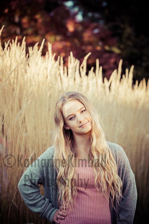Lauren Conrady, senior photos.