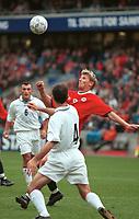 Tore André Flo, Norge. Norge - Armenia 1-1. Herrelandslaget 2000. VM-kvalifisering 2002. 2. september 2000. (Foto: Peter Tubaas/Fortuna Media)