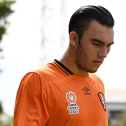 BRISBANE, AUSTRALIA - NOVEMBER 12: Nicholas D'Agostino of the Roar walks out during the round 1 Foxtel National Youth League match between the Brisbane Roar and Melbourne Victory at Spencer Park on November 12, 2016 in Brisbane, Australia. (Photo by Patrick Kearney/Brisbane Roar)