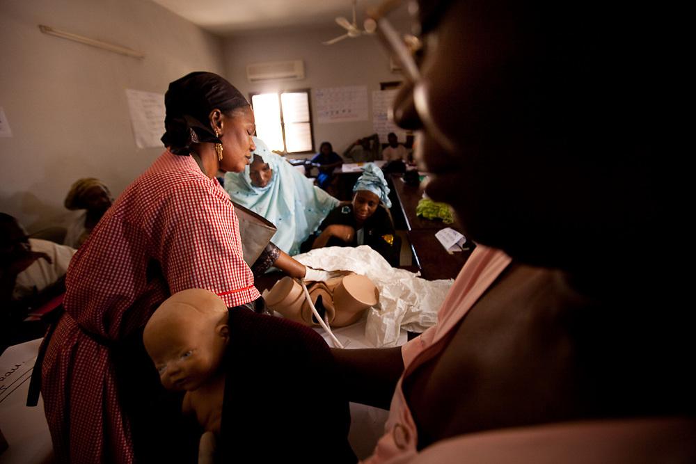 Segou Hospital Training in Mali.