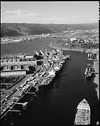 "Ackroyd 20013-1. ""Port of Portland. stock. December 30, 1976"" ""Swan Island"""