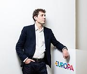 Riccardo Magi, 41 anni, segretario nazionale Radicali Italiani. Sede di +Europa a Roma. | Riccardo Magi, 41 years old, national secretary of +Europa political party. +Europa party headquarters in Rome.