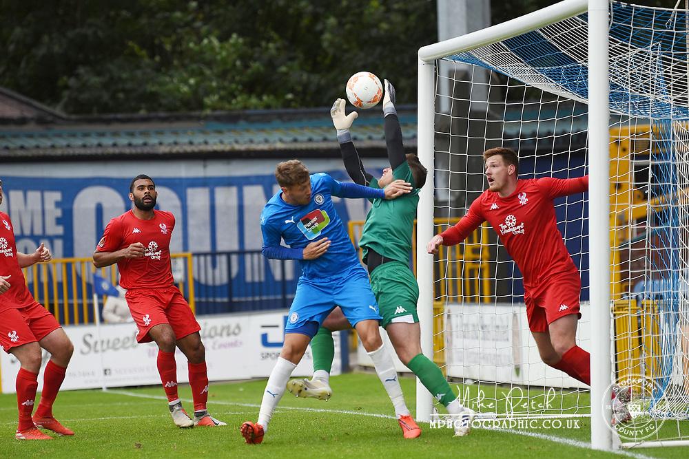Richie Bennett. Stockport County 2-1 Kidderminster Harriers. Pre-Season Friendly. 28.9.20
