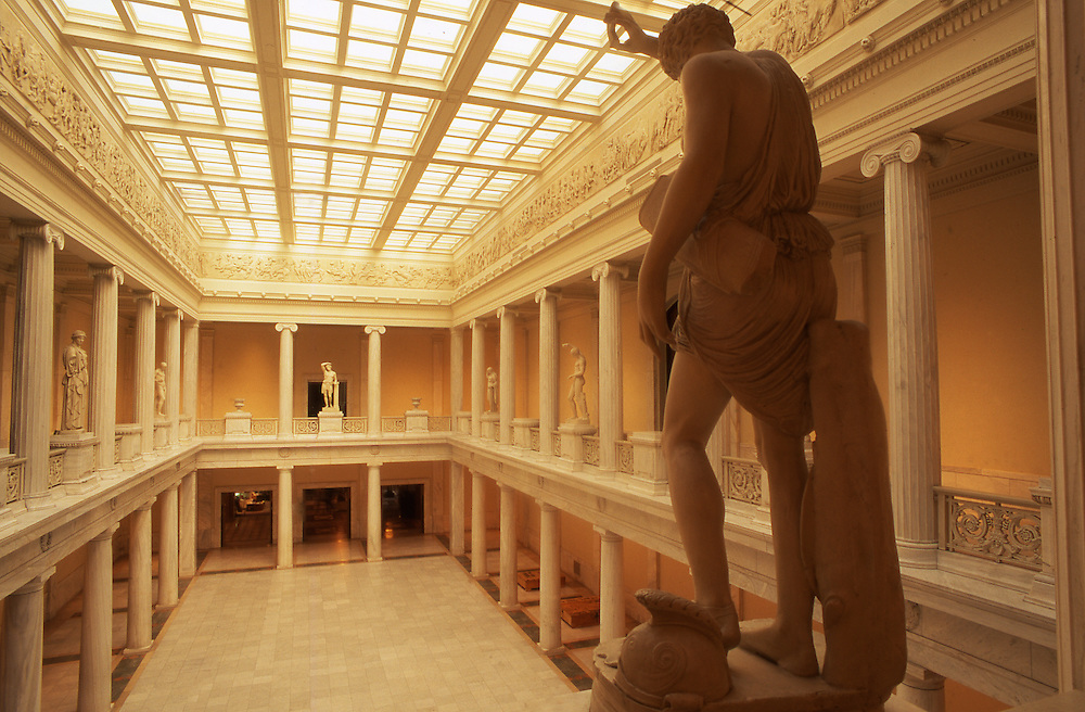 Pittsburgh, PA, Carnegie Museum of Art, Hall of Architecture