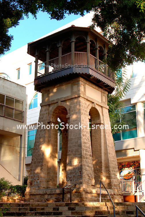 Israel, central coastal strip, Rishon Lezion, The old water tower from 1885