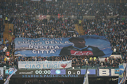 October 21, 2017 - Napoli, Napoli, Italy - Naples - Italy 21/10/2017.Supporter of S.S.C. NAPOLI during Serie A  match between S.S.C. NAPOLI and INTER  at Stadio San Paolo of Naples. (Credit Image: © Emanuele Sessa/Pacific Press via ZUMA Wire)