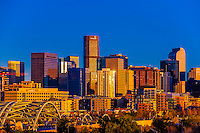 Downtown Denver, Colorado USA.