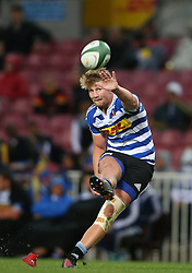 Robert du Preez of Western Province kicks a conversion during the Currie Cup Premier Division match between the DHL Western Province and the Pumas held at the DHL Newlands rugby stadium in Cape Town, South Africa on the 17th September  2016<br /> <br /> Photo by: Shaun Roy / RealTime Images