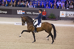 Minderhoud Hans Peter (NED) - Glock's Johnson TN<br /> Grand Prix CDI 4*<br /> Indoor Brabant - 's Hertogenbosch 2015<br /> © Hippo Foto - Dirk Caremans