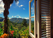 Blue Mountain View from the Spa - Strawberry Hill Hotel - Jamaica