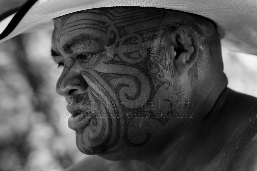 Roger Te Tai, Ohiwa Harbour, The Bay of Plenty, 2015.