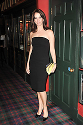 ANDREA McLEAN at the Johnnie Walker Blue Label Great Scot Award 2010 in association with The Spectator and Boisdale held at Boisdale of Belgravia, 22 Ecclestone Street, London SW1 on 24th February 2010.
