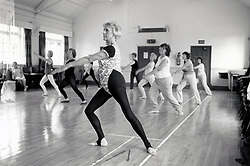 Swing Into Shape class, Nottingham UK 1987