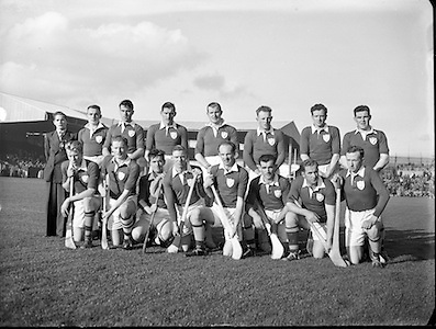 Hurling, Oireachtas Final, Croke Park, Clare v Wexford. .Wexford Team...25.10.1953, 10.25.1953, 25th October 1953