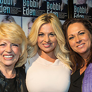 NLD/Amsterdam/20140325 - Boekpresentatie Bobbi Eden, Bobbi en haar moeder en zus