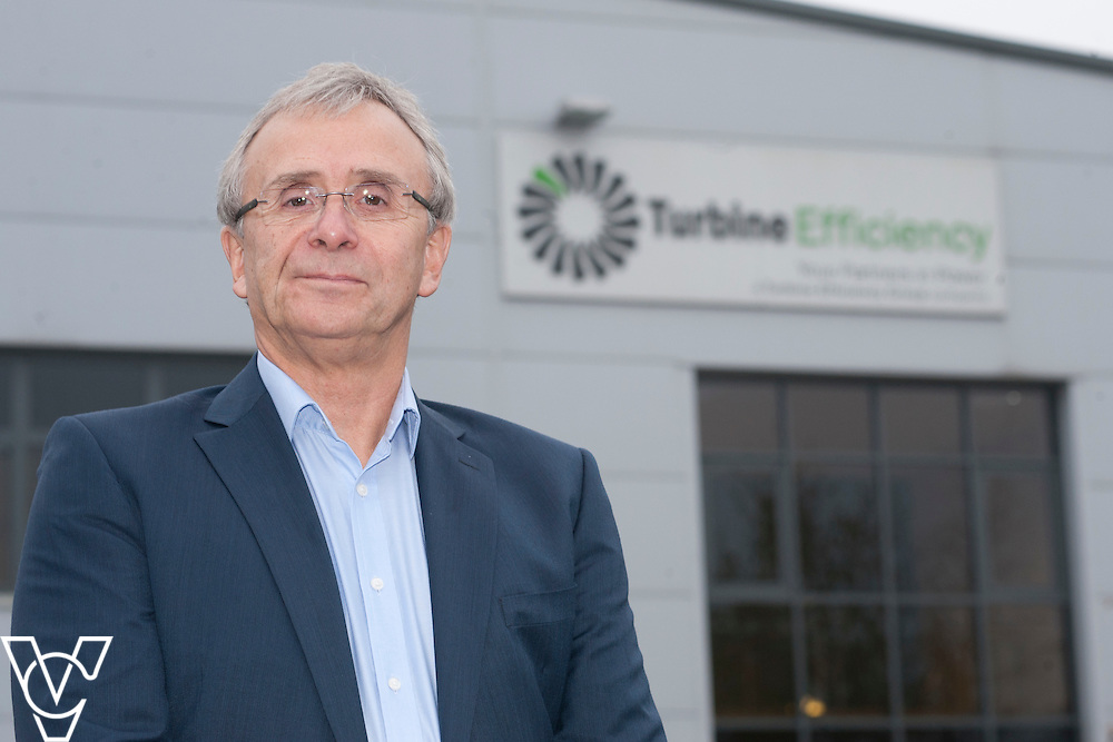Turbine Efficiency's CEO Alan Hawkins pictured at Turbine Efficiency's premises in Witham St Hughs, Lincolnshire.<br /> <br /> Date: November 27, 2014
