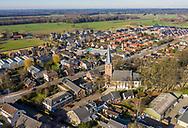 Nederland, Langbroek, 20190214<br /> Langbroek, dorpje in de provincie Utrecht. <br /> Langbroek is een gereformeerd dorp en ligt in de Biblebelt.<br /> <br /> Foto (c) Michiel Wijnbergh