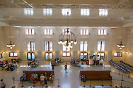 The historic Seattle train station in downtown Seattle, WA, USA
