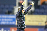 Luton Town Manager Nathan Jones celebrates at full time during the EFL Sky Bet League 1 match between Luton Town and Plymouth Argyle at Kenilworth Road, Luton, England on 17 November 2018.