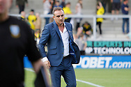 Sheffield Wednesday manager Carlos Carvalhal looks despondent during the EFL Sky Bet Championship match between Burton Albion and Sheffield Wednesday at the Pirelli Stadium, Burton upon Trent, England on 26 August 2017. Photo by Richard Holmes.