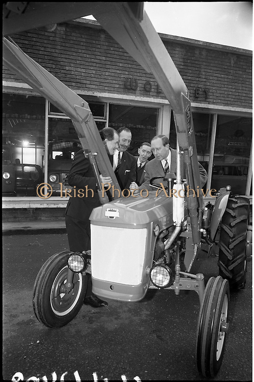 03/01/1966.01/03/1966.03 January 1966.BMC mini tractor arrives.