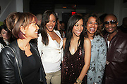 l to r: Sylvia Rhone, Shontelle, Suai, Danyell Smith and Ron Browz at The Vibe Magazine Presents Vsessions Live! Hosted by the Fabulous Toccara featuring Hal Linton, Suai and Ron Browz held at Joe's Pub on February 25, 2009 in NYC