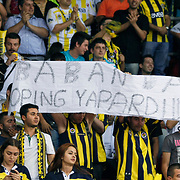 Fenerbahce Ulker's supporters during their Turkish Basketball league Play Off Final Sixth Leg match Fenerbahce Ulker between Efes Pilsen at the Abdi Ipekci Arena in Istanbul Turkey on Wednesday 02 June 2010. Photo by Aykut AKICI/TURKPIX