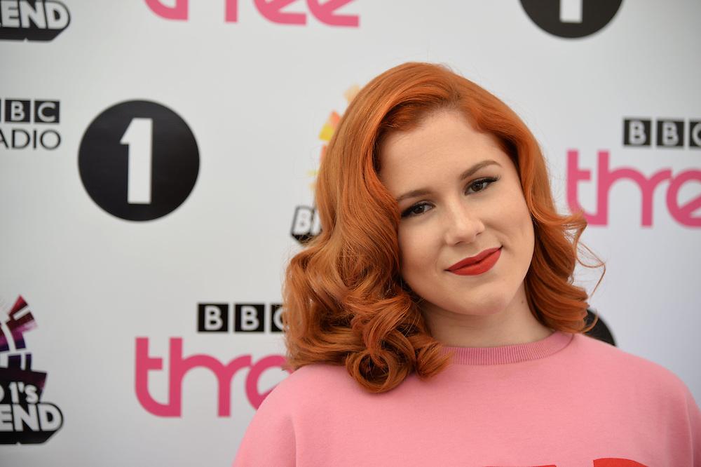 BBC Radio Big Weekend  Glasgow  Day 2 <br /> Katy B <br /> Pix dave nelson