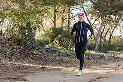 10.03.2016, Colonia di Sant Jordi, ESP, Deutsche Triathlon Nationalmannschaft, Trainingslager, im Bild Lisa Sieburger // during training session at the training camp of German Triathlon National Team in Colonia di Sant Jordi, Spain on 2016/03/10. EXPA Pictures © 2016, PhotoCredit: EXPA/ Eibner-Pressefoto/ Schueler<br /> <br /> *****ATTENTION - OUT of GER*****